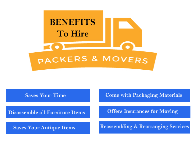 Benefits to Hire Packers and Movers in Delhi