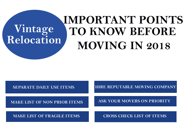 Important Points to Know Before Moving